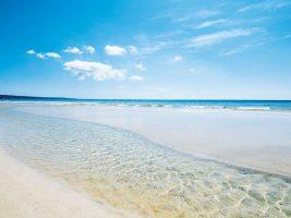 Spiaggia di pescoluse a misura di bambino