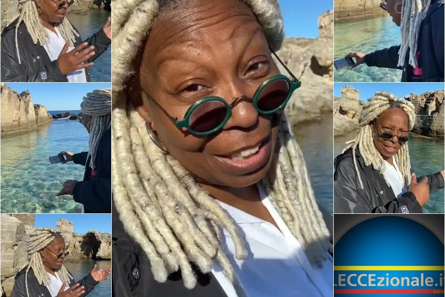 Whoopi Goldberg in Salento