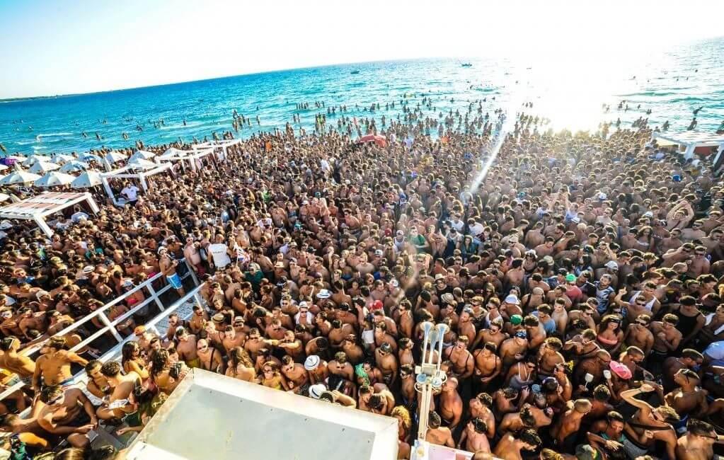 feste in spiaggia