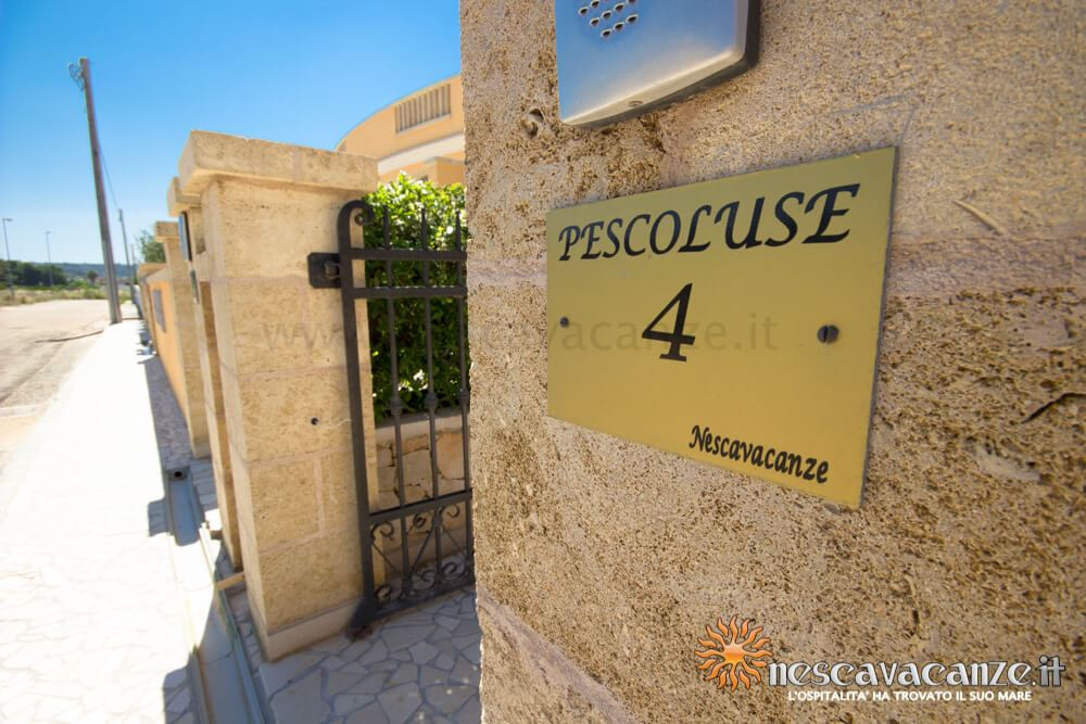 Ingresso casa Pescoluse 4