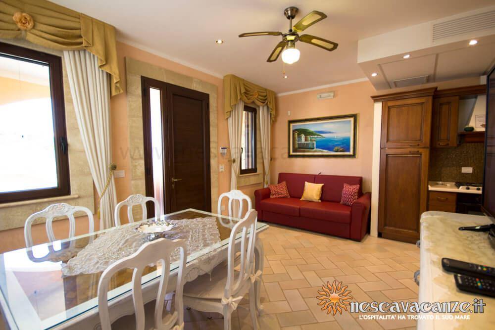 Soggiorno casa Pescoluse 4