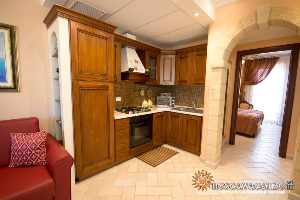 Cucina attrezzata casa Pescoluse 4