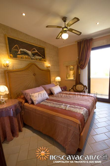Camera matrimoniale casa Pescoluse 4