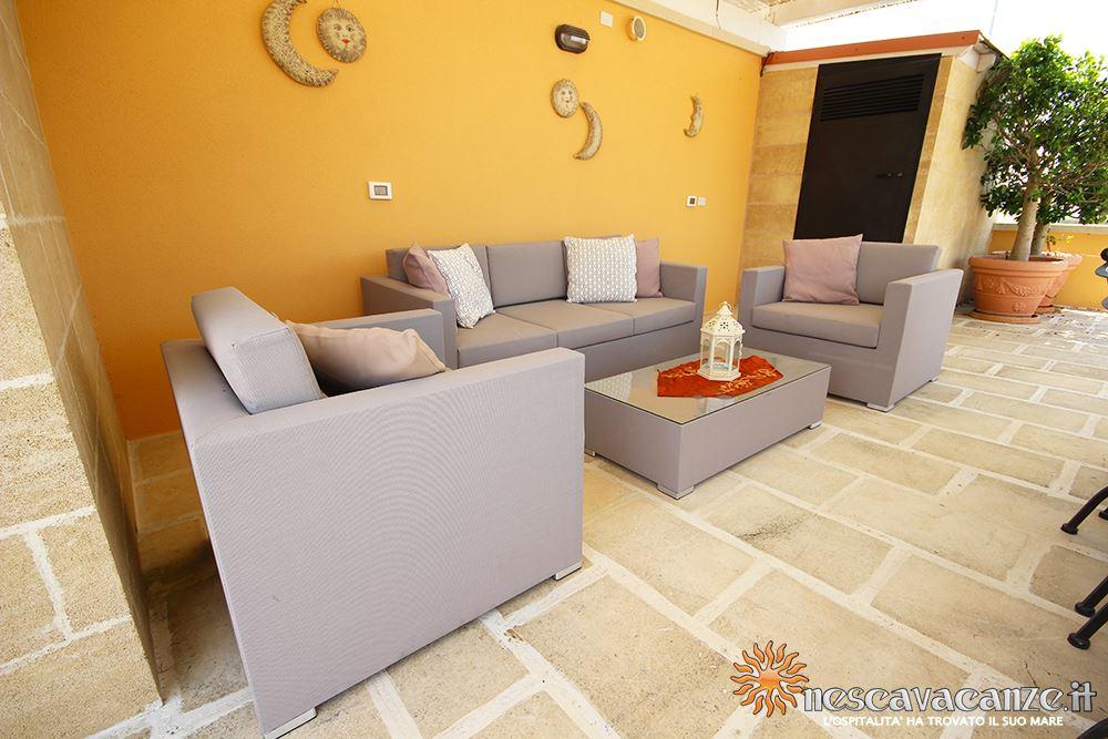 Divanetti terrazza casa Pescoluse 4