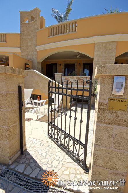 Ingresso casa Pescoluse 5