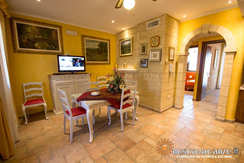 Soggiorno casa Pescoluse 5