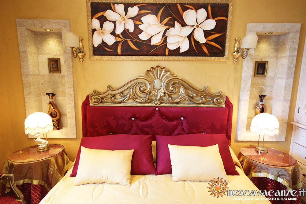 Camera matrimoniale casa Pescoluse 5