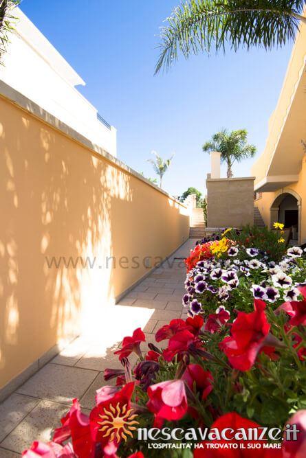 Corridoio giardino casa Pescoluse 7