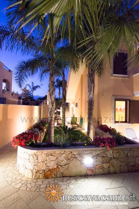 Giardino di notte casa Pescoluse 7