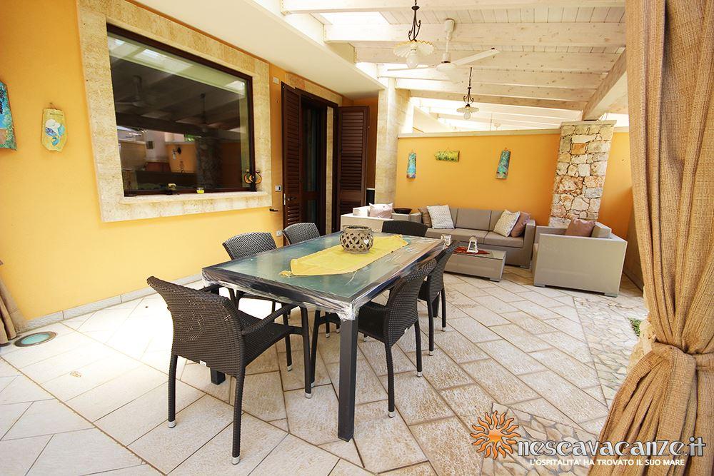 Giardino casa Pescoluse 7