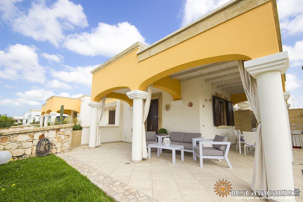 Veranda attrezzata casa Pescoluse 8