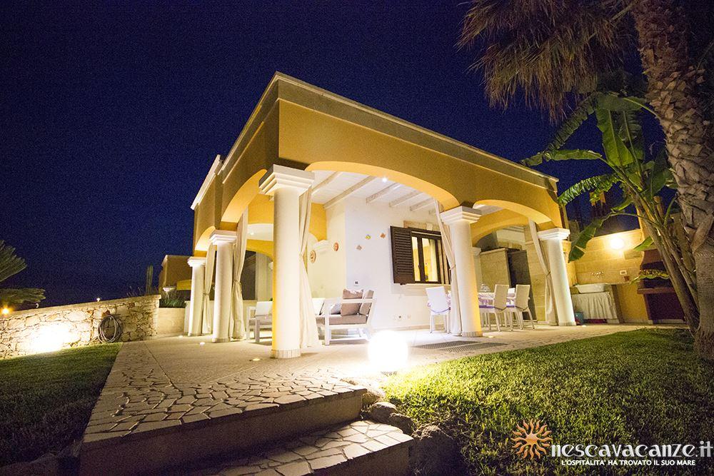 Giardino di notte casa Pescoluse 8