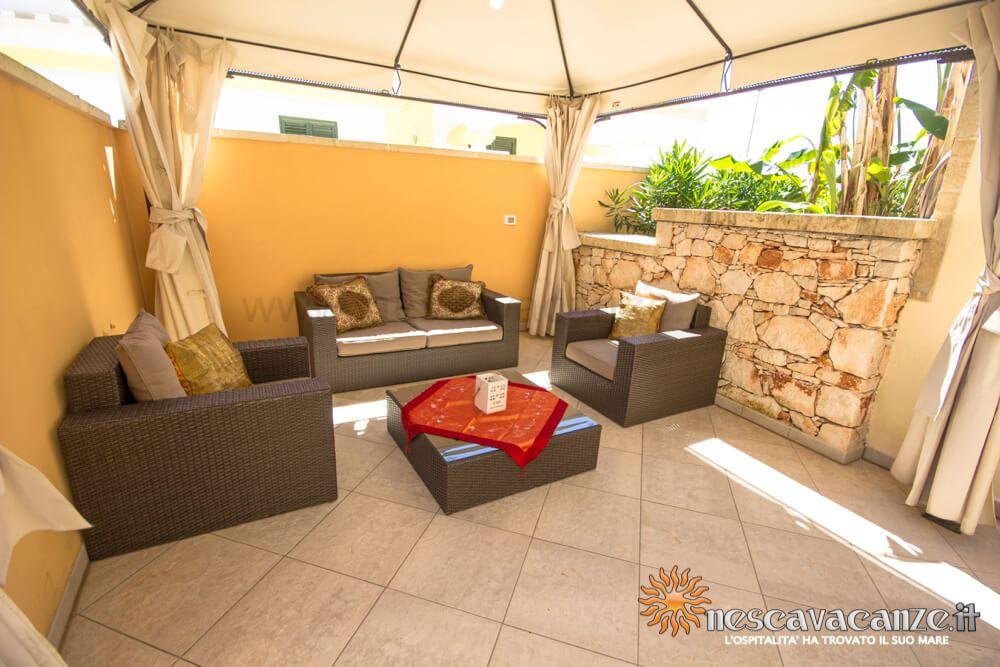 Zona relax casa Pescoluse 9
