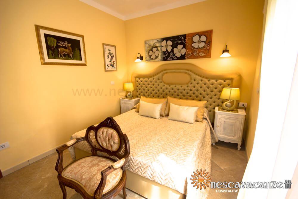 Seconda camera matrimoniale casa Pescoluse 9