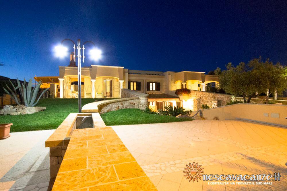 Giardino di notte casa Pescoluse 9
