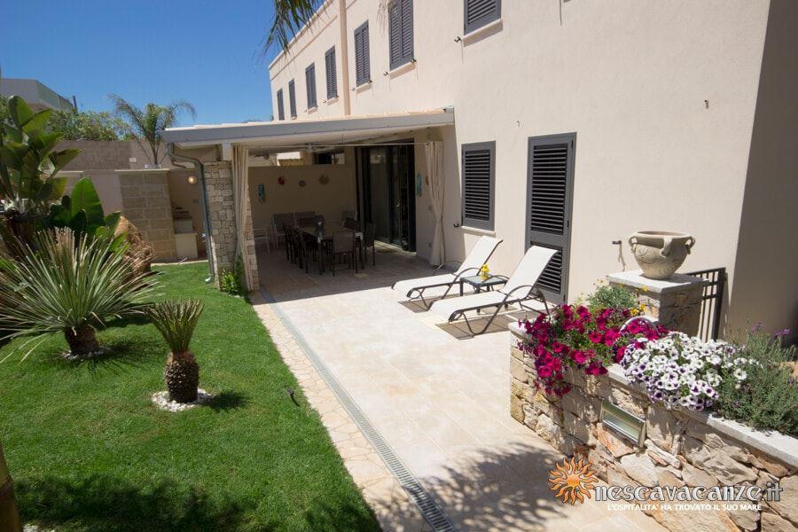 12: Casa Dune Pescoluse veranda 3