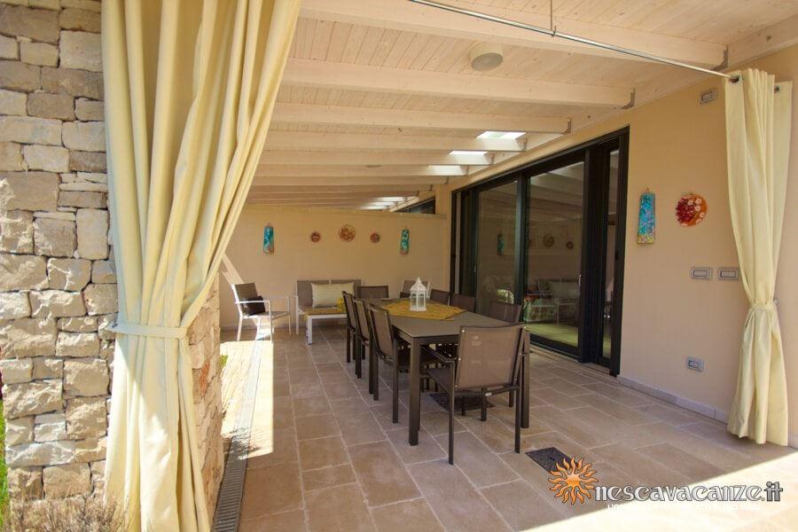 14: Casa Dune Pescoluse veranda 5