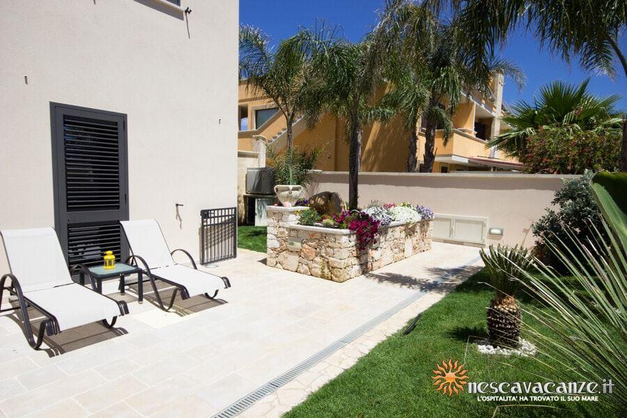 15: Casa Dune Pescoluse veranda 6