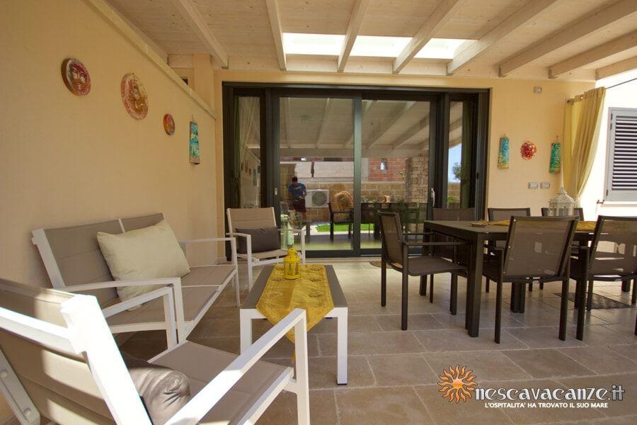 18: Casa Dune Pescoluse veranda 9