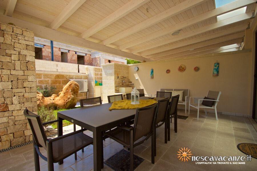 19: Casa Dune Pescoluse veranda 10