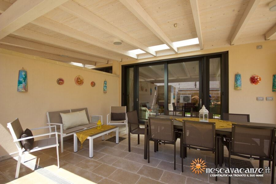 20: Casa Dune Pescoluse veranda 11