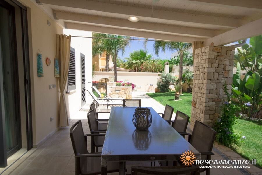 21: Casa Dune Pescoluse veranda 12