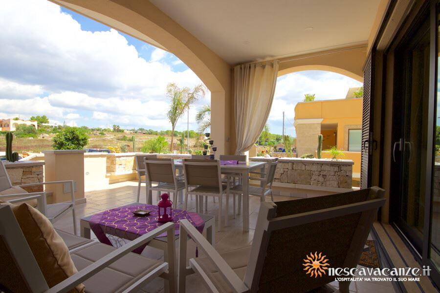 6: Casa Giglio Pescoluse veranda