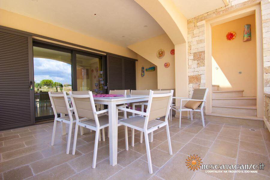 8: Casa Giglio Pescoluse veranda 3