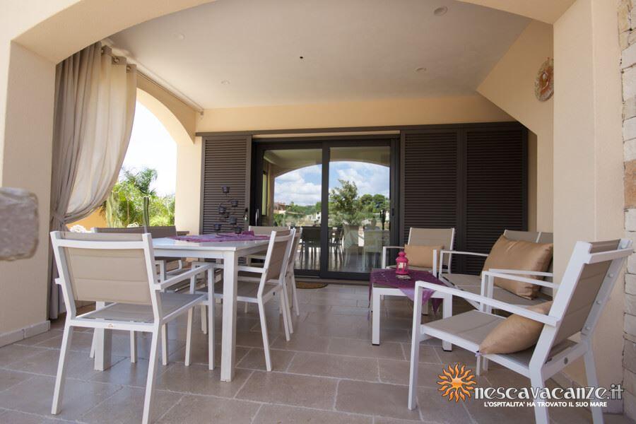 10: Casa Giglio Pescoluse veranda 5