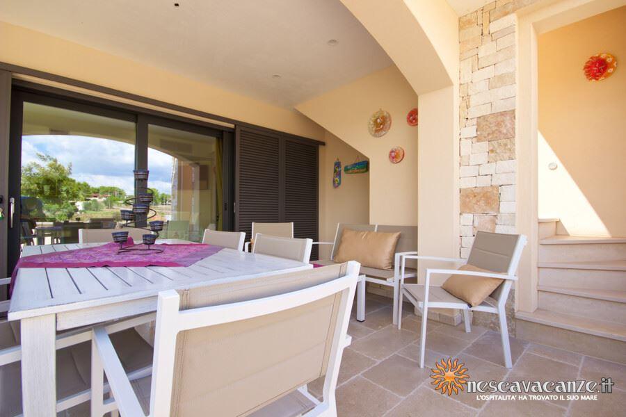 11: Casa Giglio Pescoluse veranda 6