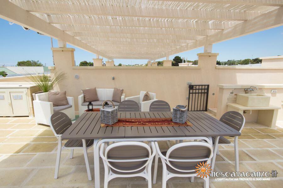 14: Casa Giglio Pescoluse veranda 9