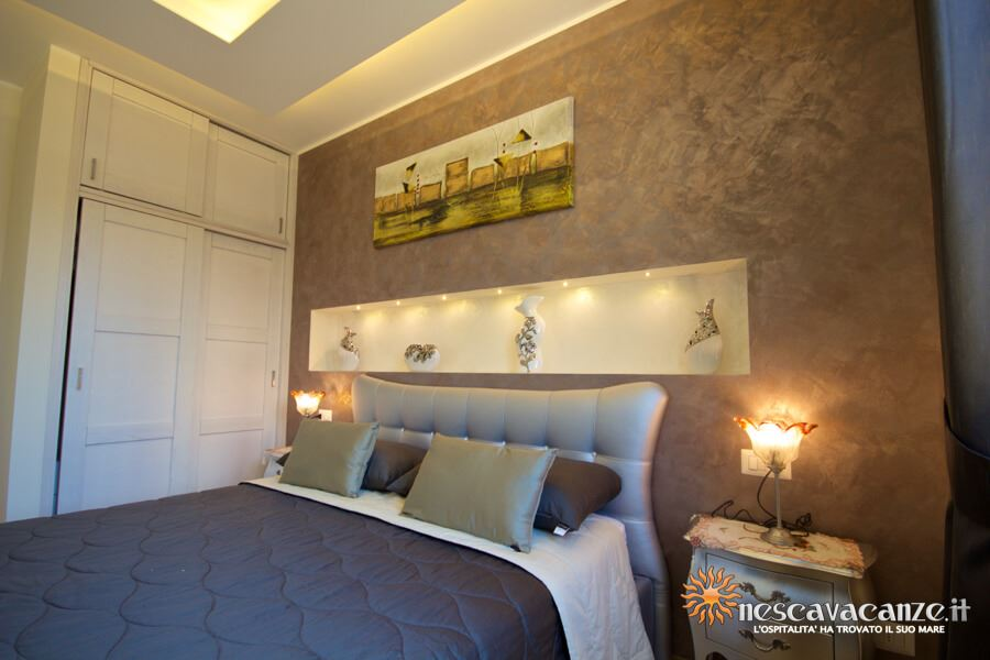 46: Casa Giglio Pescoluse camera matrimoniale 2