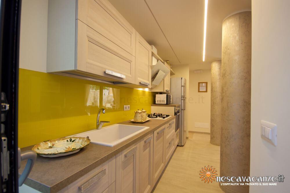 Cucina attrezzata casa Salento