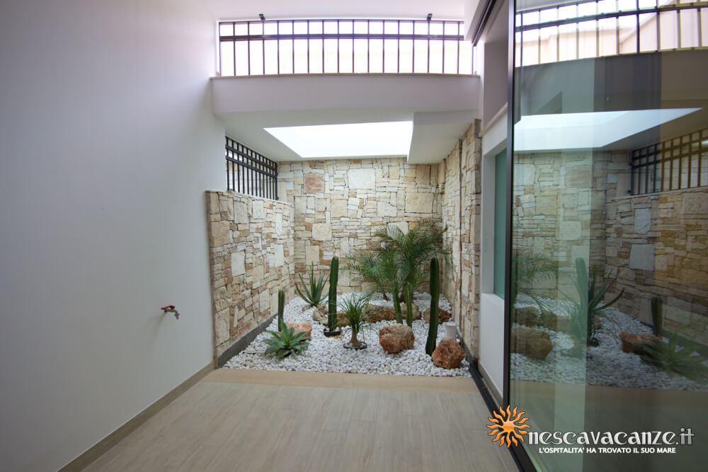Verandina interna casa Salento