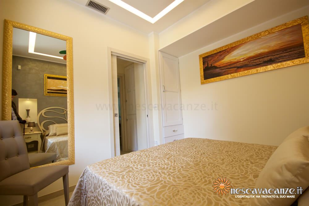 Prima camera matrimoniale casa Salento