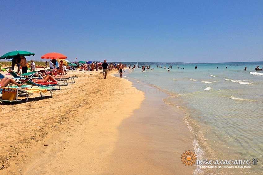 spiaggia_pescoluse_mare foto 4