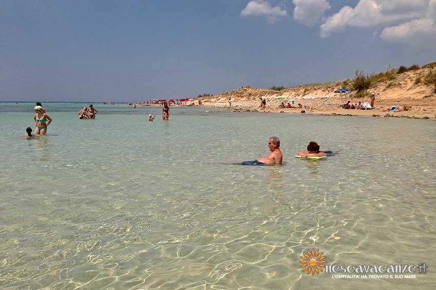 spiaggia_pescoluse_mare foto 1